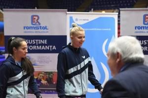 Adina Diaconu şi Irina Ciobanu au luat aurul la Campionatul Naţional de Tenis de Masă