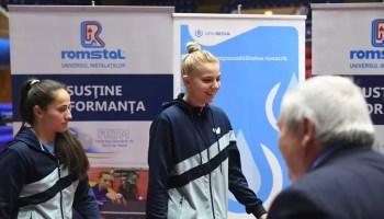 Adina Adina Diaconu şi Irina Ciobanu, din nou pe podium