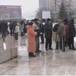 Pensionarii au ieșit în stradă, la Slatina