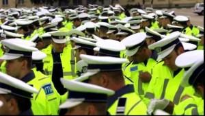 Proteste de amploare în ţară: Mii de poliţişti cer mărirea salariilor