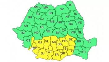 0E0356AE-1355-4859-9DC1-5ACC8F35AF42 METEO - Ger în toată ţara şi cod galben în mai multe judeţe