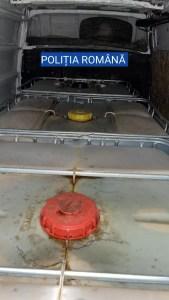 Un oltean, prins în timp ce transporta ilegal 3.000 de litri de ţiţei