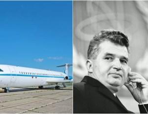Avionul lui Nicolae Ceaușescu va fi scos la licitație