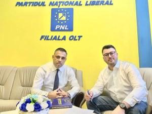 Marius Iulian Aliman, candidatul PNL la funcția de primar al localității Deveselu