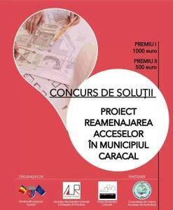 A început concursul pentru porțile de acces al Caracalului
