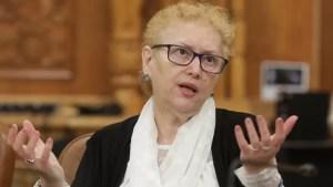 """Renate Weber, după decizia CCR: """"Tot ce s-a întâmplat în Parlament a fost un mare abuz"""""""