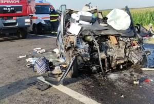 Bărbat din Potcoava, mort într-un accident produs în Argeș