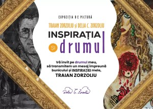 Inspirația și drumul lui Traian Zorzoliu, la Slatina