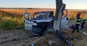 Cinci persoane rănite într-un accident produs în zona Pădurea Saru