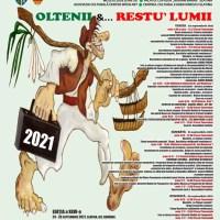 """Festivalul """"OLTENII &… RESTU' LUMII"""", în perioada 24-26 septembrie 2021"""