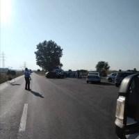 Accident la Pleșoiu: o femeie și 2 minori au ajuns la spital