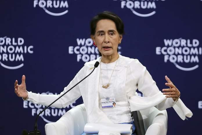 Myanmar lideri