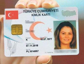 Kimlik kartlarıyla ilgili yeni değişiklik