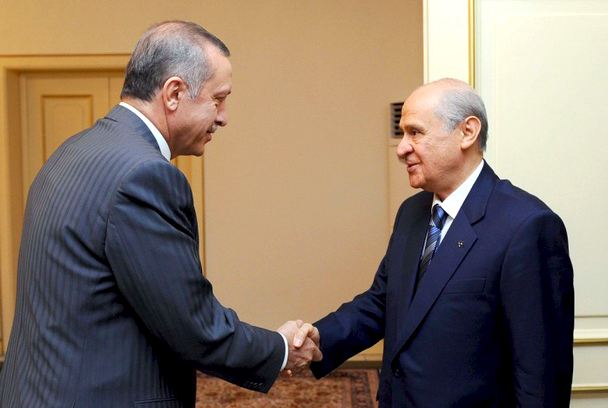 Image result for erdogan bahceli