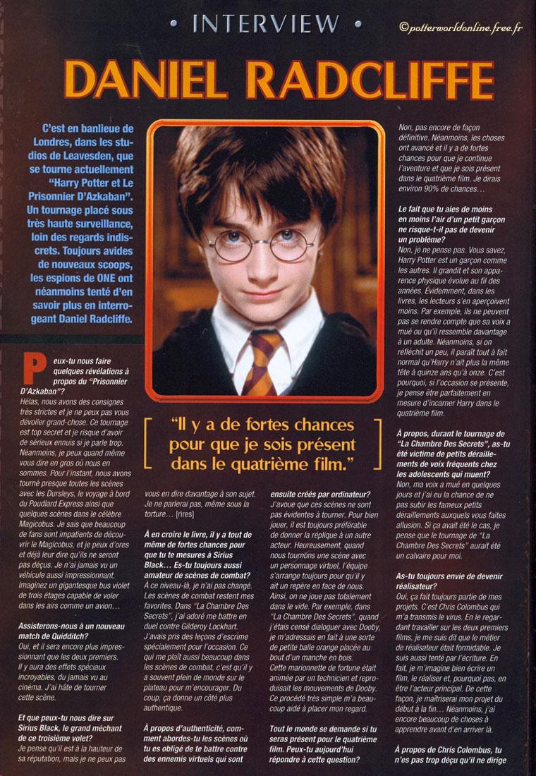C'est Pas Sorcier Les Espions : c'est, sorcier, espions, Interview, Daniel, Radcliffe