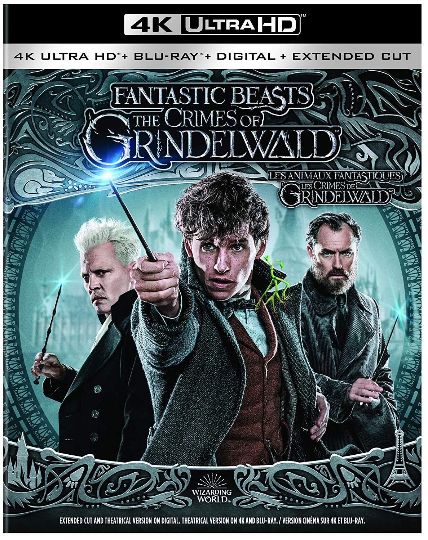 Les Animaux Fantastique Les Crimes De Grindelwald : animaux, fantastique, crimes, grindelwald, Crimes, Grindelwald, Version, Longue, Blu-ray?