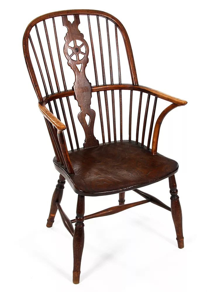 windsor chair with arms target furniture folding chairs guide to buying high back armchair bonhams