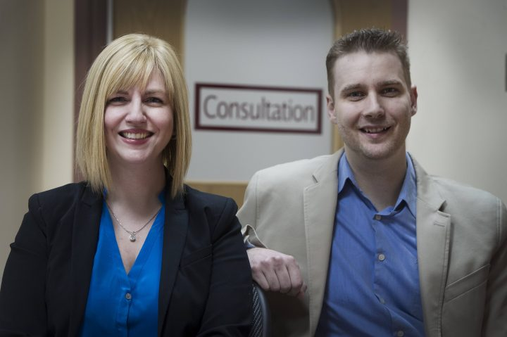 (L-R): Dr. Debbie Kelly and Dr. Jason Kielly