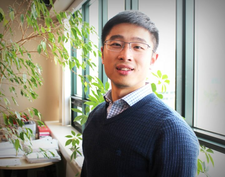 Qihua Xu, a Memorial alumnus, credits the career supports at Memorial for helping him find employment in the province