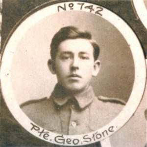 Private George Joseph Stone