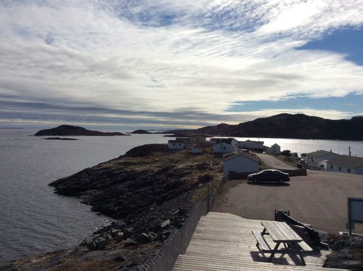 Dr. Maura Hanrahan spent time on historic Fogo Island during a retreat last month.