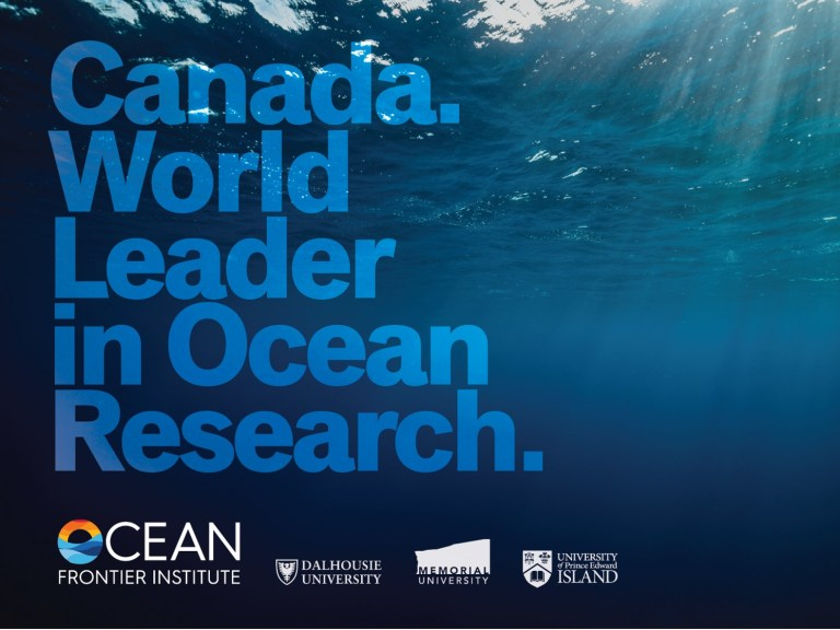 The Ocean Frontier Institute is an historic partnership between Memorial, Dalhousie and the University of Prince Edward Island.
