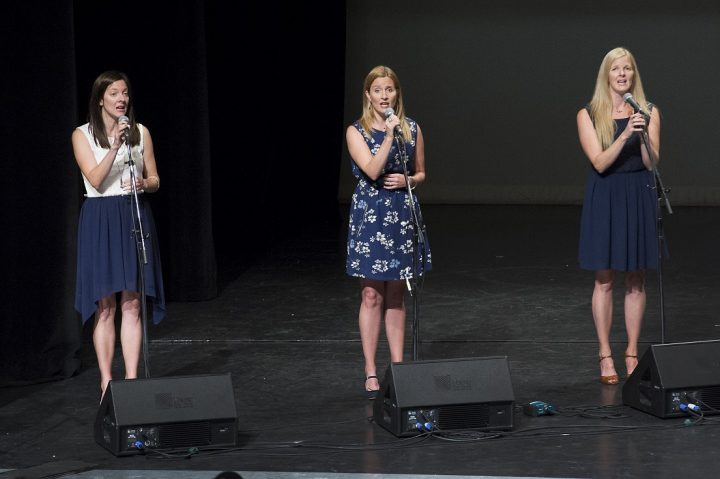 The Ennis Sisters performed Ode to Newfoundland and Sing You Home.