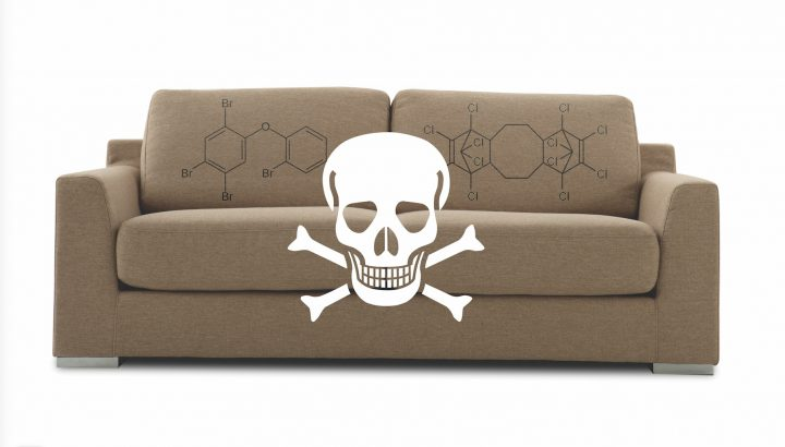 Toxic by Design has released a report about the dangers of flame-retardant chemicals in consumer goods.