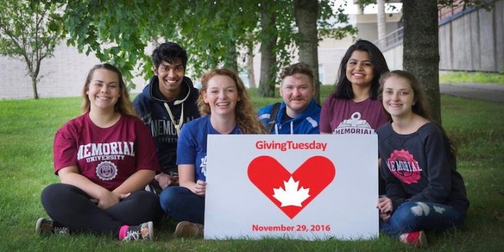 Memorial students are participating in GivingTuesday on Nov. 29.