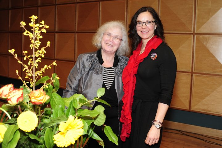 SPARKS founder Mary Dalton and current chair Dr. Jennifer Lokash