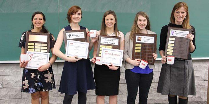 Psychology award winners