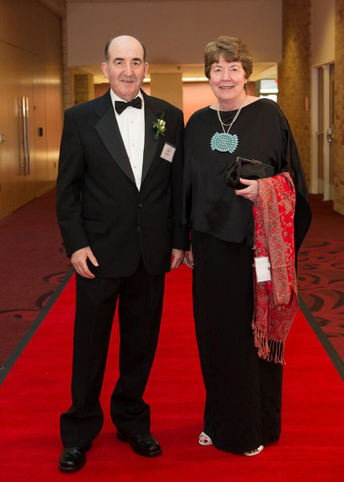 Drs. Sean and Margaret Brosnan.
