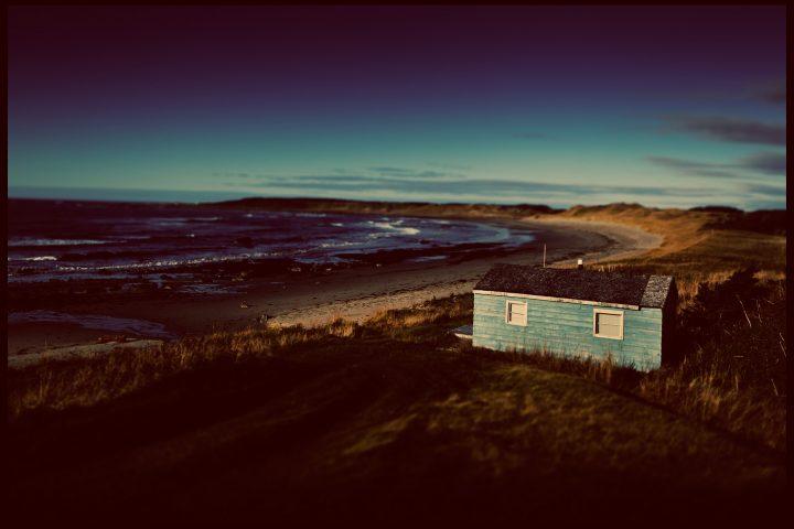 The west coast of Newfoundland.