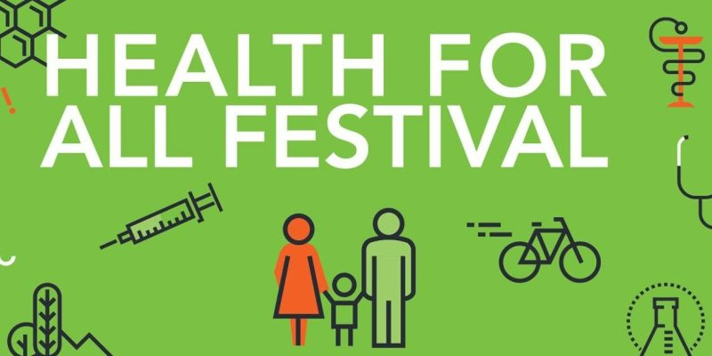 The first-ever Health for All Festival takes place Saturday, Nov. 4.