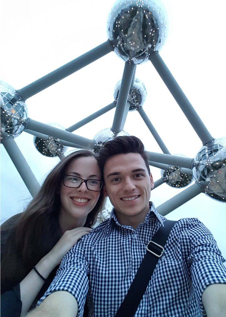 Jevon Marsh and Lauren Winsor
