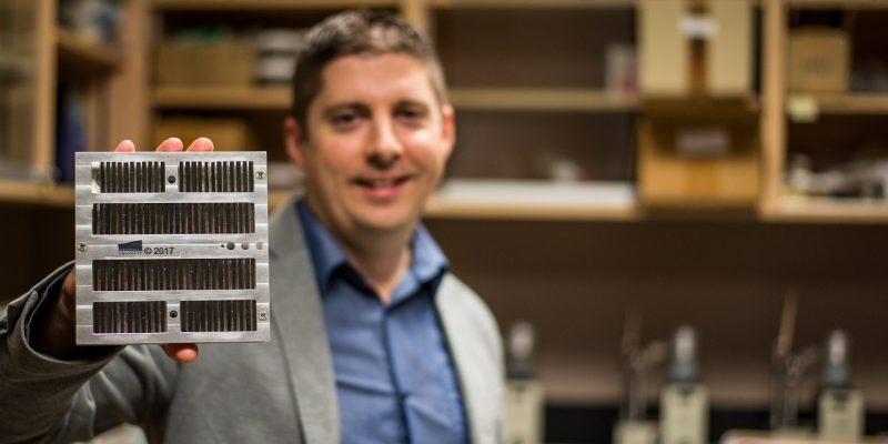 Dr. David Grant and his research team have developed and copyrighted custom-made sample holders and moulds for single-step, trans-vertical mounts used in automated mineralogy.
