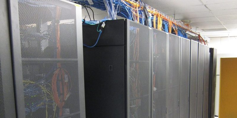 One of the main data centres at Memorial