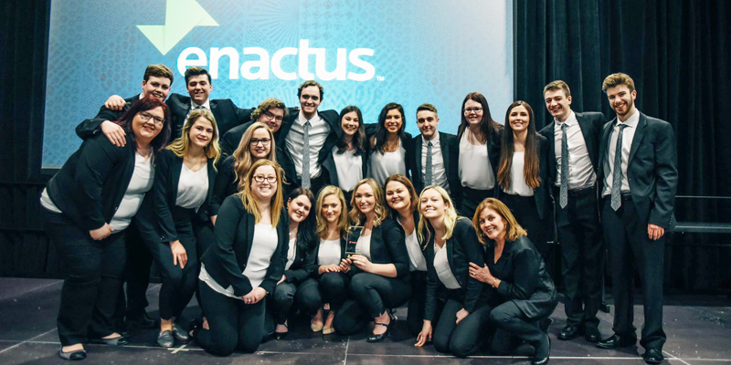 Enactus Memorial at the regional championships in Halifax.
