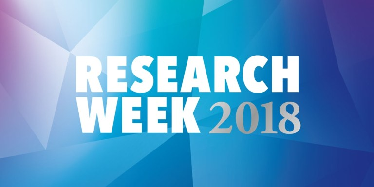 Memorial is hosting Research Week May 12-17.