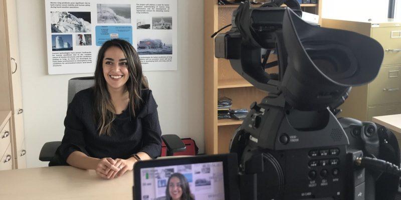 PhD student Marjan Taghi Boroojerdi