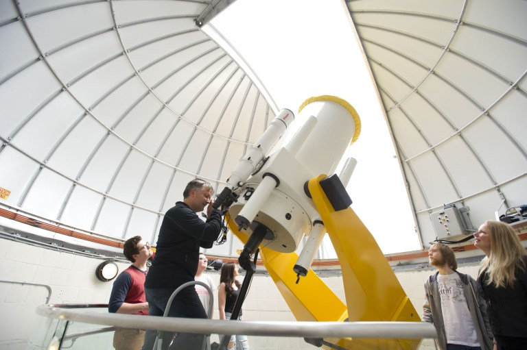 The Grenfell Campus project includes Grenfell Observatory tours.