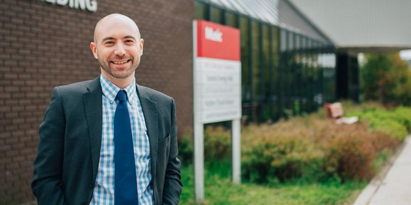 Dr. Ian Sutherland, dean, School of Music.