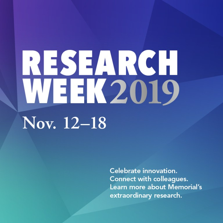 As part of Research Week, Memorial is celebrating its extraordinary researchers.