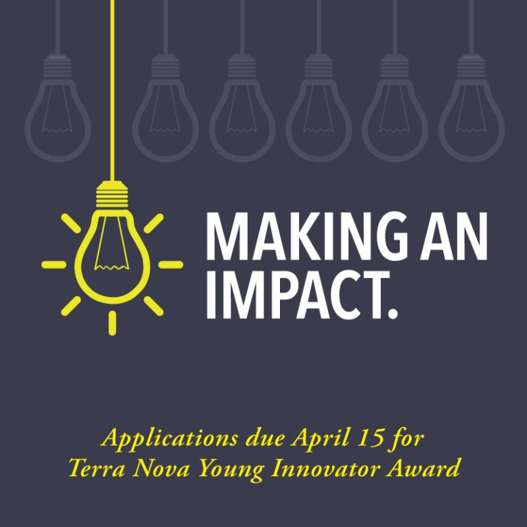 The Terra Nova Young Innovator Award is one of Memorial's most sought-after research awards for new scholars.