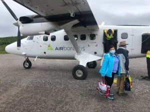 Flying out of Rigolet