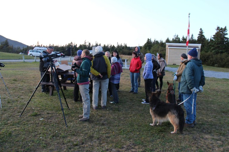 """2.This Gros Morne partnership was highlighted in the Canadian subatomic physics plan: Parks Canada, the Grenfell Observatory and other partners presented a """"Star Party"""" at Trout River Pond last year, led by Dr. Svetlana Barkanova, Grenfell physics professor."""