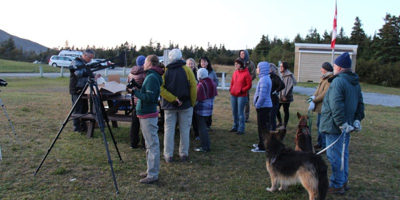"2. This Gros Morne partnership was highlighted in the Canadian subatomic physics plan: Parks Canada, the Grenfell Observatory and other partners presented a ""Star Party"" at Trout River Pond last year, led by Dr. Svetlana Barkanova, Grenfell physics professor."