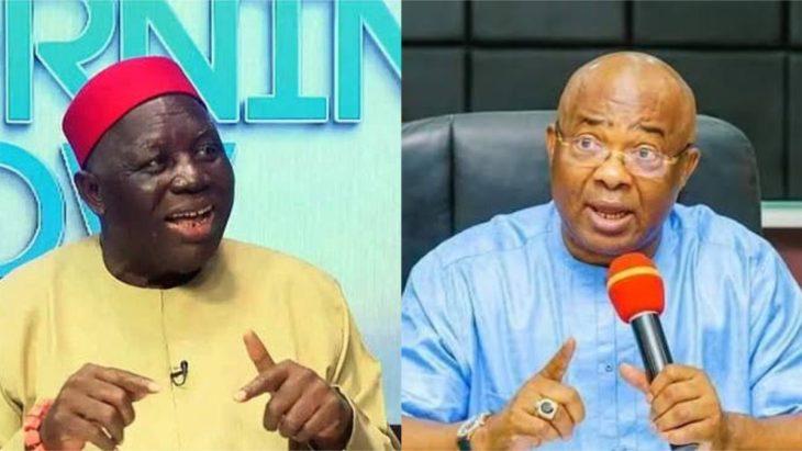 President Obiozor and Hope Uzodinma