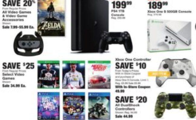 Video Game Black Friday Deals Best In 2018 Gazette Review