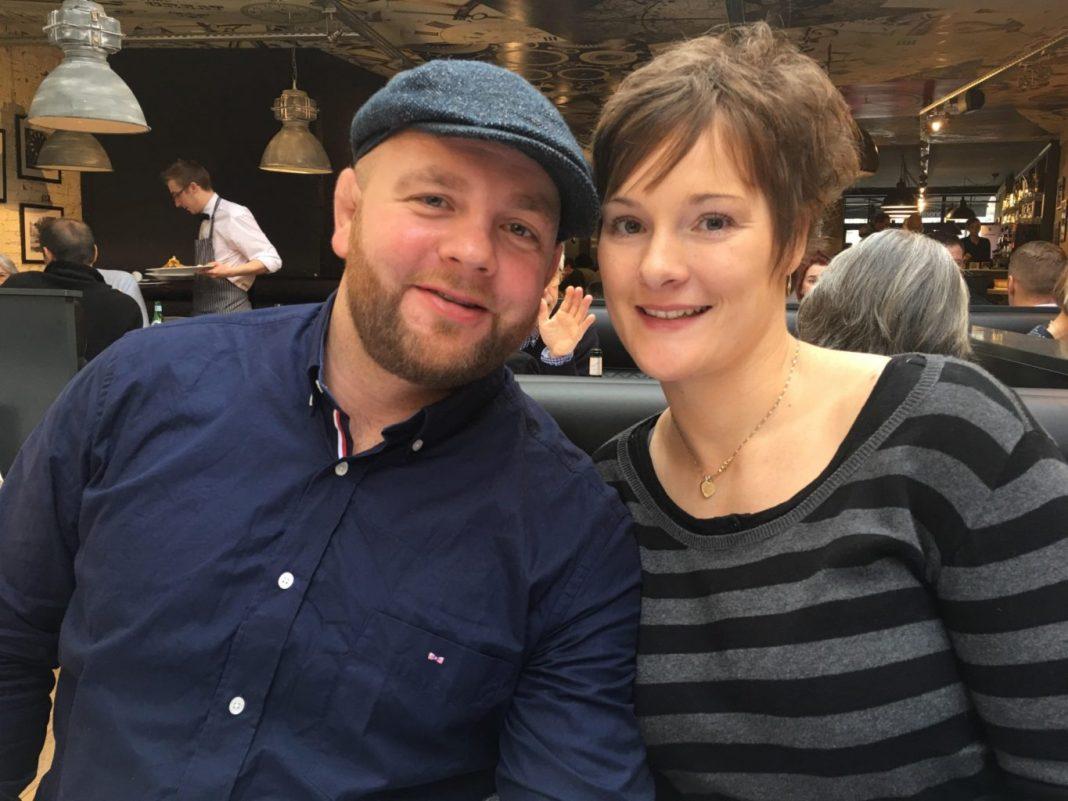 Nico Kanning et son épouse Lucie Louette